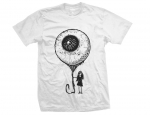 Eye balloon white - tshirt męski