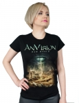 ANVISION - New World -t-shirt/damski
