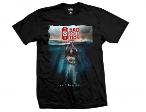 BAD SOLUTION - Self - t-shirt męski