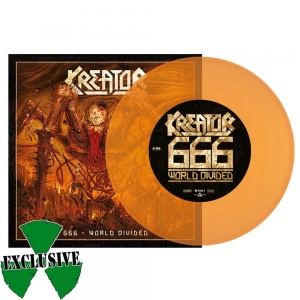 KREATOR / LAMB OF GOD 666 - World divided / Checkmate ORANGE VINYL