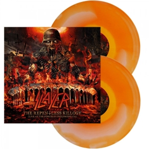 SLAYER The repentless killogy, Live... ORANGE/WHITE INK S/ 2LP