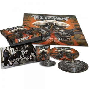 TESTAMENT LIMITED BOX Brotherhood of the snake CD-DIGI + PICTURE