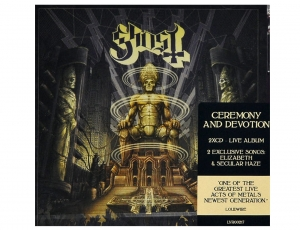 GHOST - CEREMONY AND DEVOTION - 2xCD/ jewelcase
