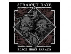 STRAIGHT HATE - Black Sheep Parade – CD/jewelcase