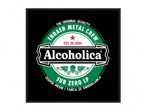 ALCOHOLICA - patch / TrashMetal Crew
