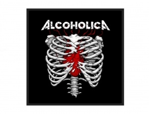 ALCOHOLICA - patch / Corps
