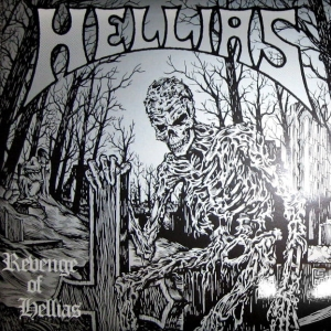 HELLIAS - REVENGE OF HELLIAS - LP/ winyl/ red (2008)