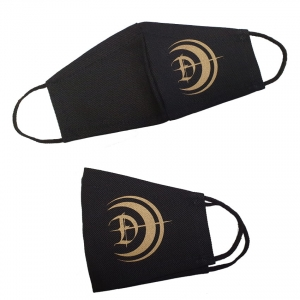 DARZAMAT - Face mask with gold logo