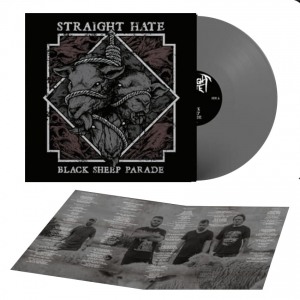 STRAIGHT HATE - Black Sheep Parade – LP winyl szary (2019)