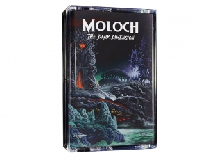 MOLOCH - The Dark Dimension - cassette/ MC/ green (2019)