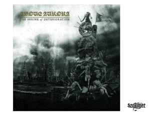 ABOVE AURORA - The Shrine of Deterioration - CD/ jewelcase (2020)