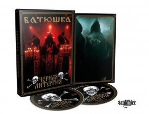 BATUSHKA - ЧЕРНАЯ ЛИТУРГИЯ / BLACK LITURGY - CD+DVD/ digipack A5