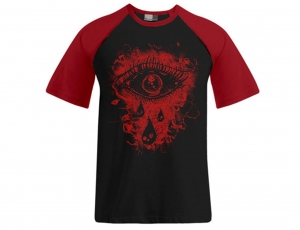 SZATANIEC - T-SHIRT Raglan/ red / men