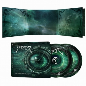 PRE-ORDER! SCEPTIC - INTERNAL COMPLEXITY - 2CD/ digipack (2021)