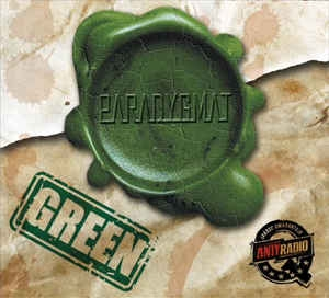 PARADYGMAT - Green - CD/ jewelcase (2015)