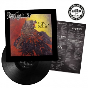 RAGEHAMMER - Into Certain death - LP/ czarny winyl (2020)