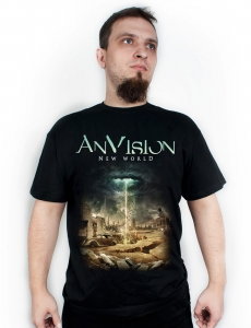 ANVISION - New World -T-shirt/ męski