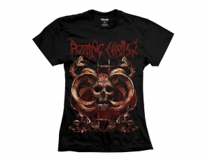 Rotting Christ t-shirt Skull women