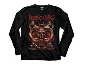 Rotting Christ - Skull- Long Sleeve t-shirt
